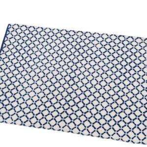 Tappeto cotone Blu Tegmen casa bagno
