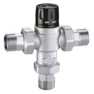 Caleffi miscelatore termostatico regolabile controllo temperatura