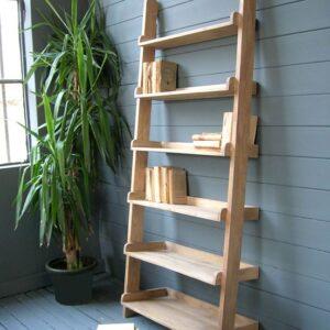 Libreria scalare legno di mango massello Woody