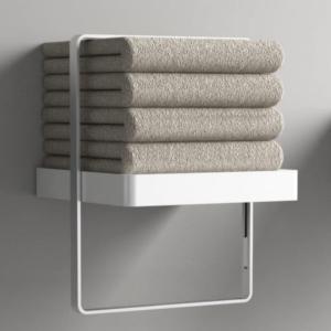 Set asciugamani bagno cotone biancheria bagno