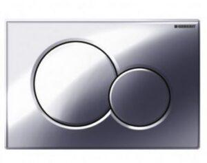 Placca Sigma 01 cromato lucido Geberit