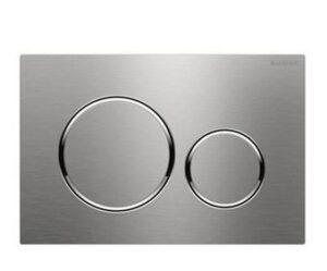 Placca Sigma 20 acciaio inox Geberit