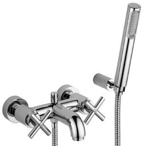Gruppo vasca/doccia con deviatore serie Quattro Paffoni