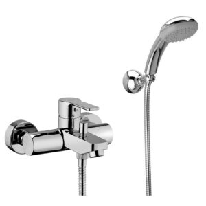 Miscelatore vasca /doccia con deviatore serie Red Paffoni