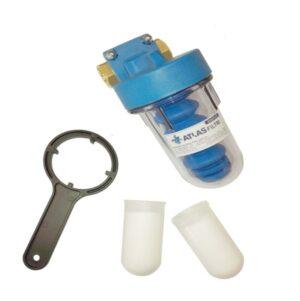 Dosatore sali polifosfati con by-pass per installazione sotto caldaia